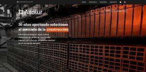 Página web de Grupo Alfasur.